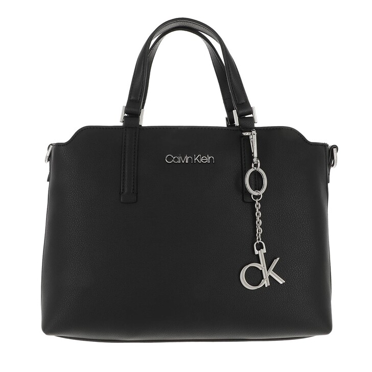 Handtasche, Calvin Klein, Medium Tote Bag Black