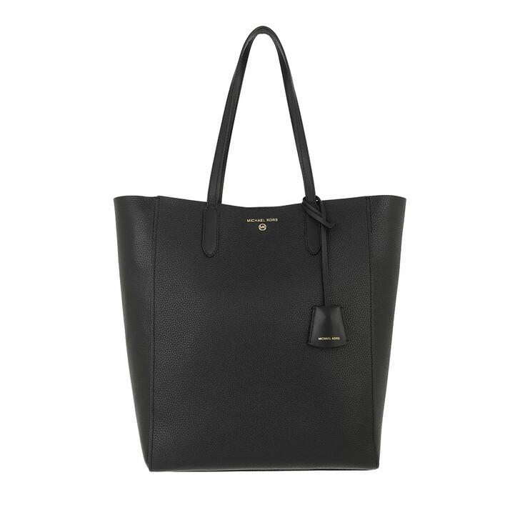 bags, MICHAEL Michael Kors, Sinclair Large Ns Shopper Tote Black