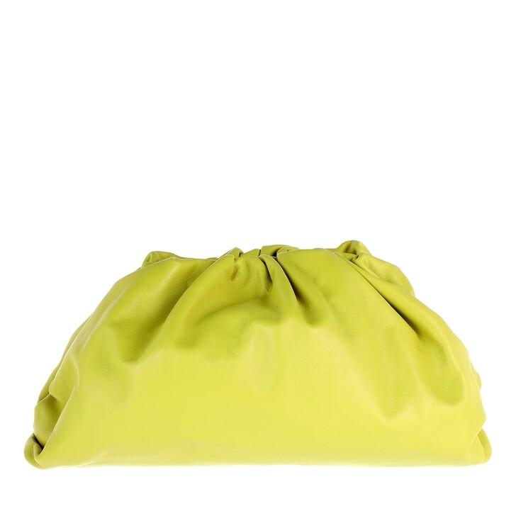 Handtasche, Bottega Veneta, Pouch Bag Leather Kiwi