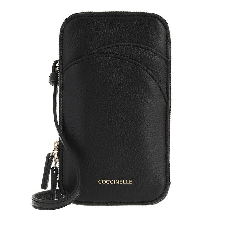 smart_cases, Coccinelle, I-Tech Cell Phone Holder Noir