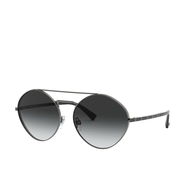 Sonnenbrille, Valentino, Women Sunglasses Legacy 0VA2036 Ruthenium