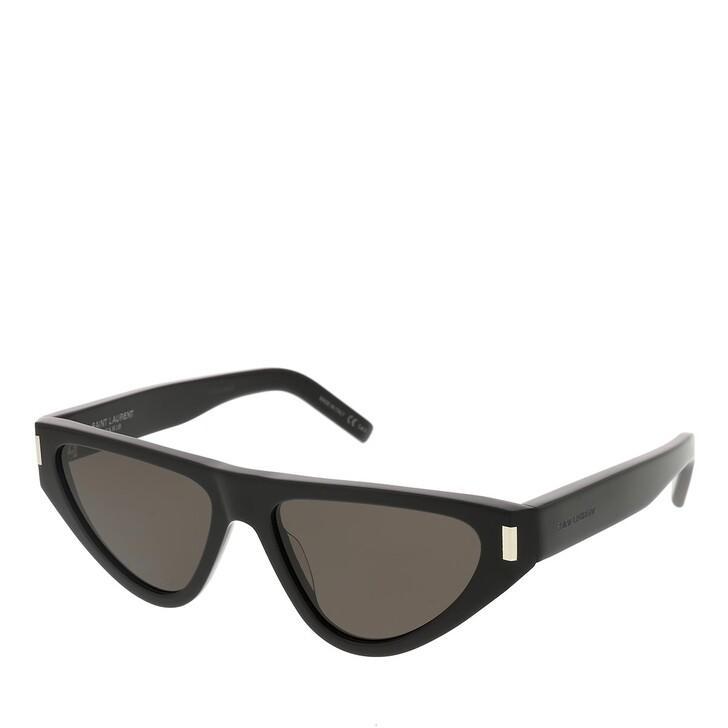 sunglasses, Saint Laurent, SL 468-001 55 Sunglass Woman Acetate Black-Black-Black