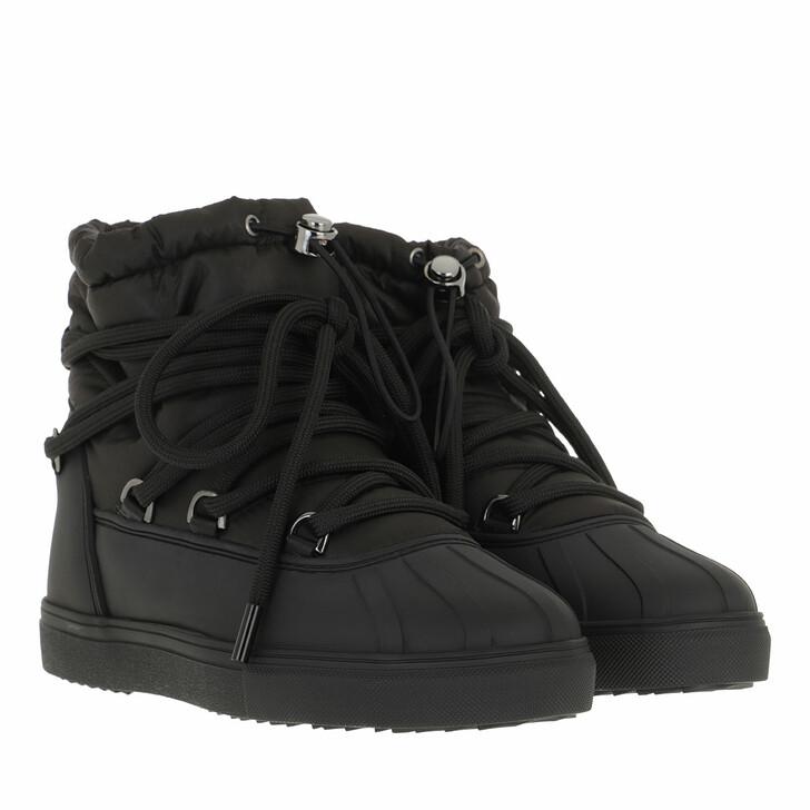 shoes, INUIKII, Trekking Low  Black