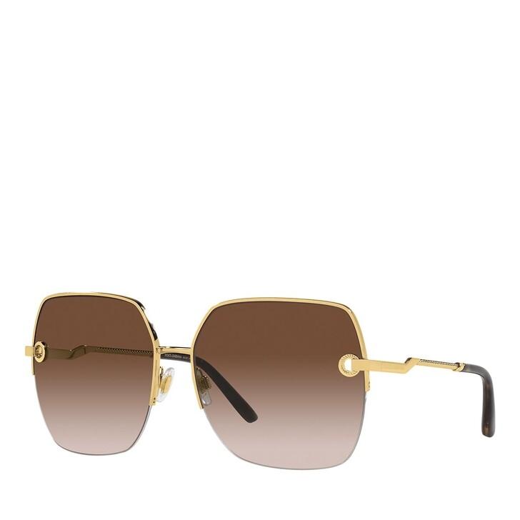 Sonnenbrille, Dolce&Gabbana, 0DG2267 GOLD
