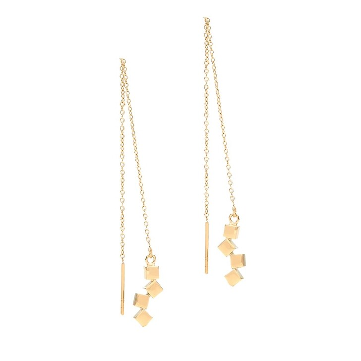earrings, COEUR DE LION, Pierced earrings Gold