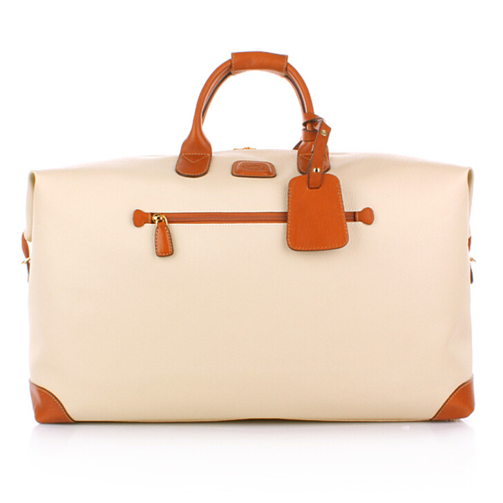 Handtasche, Bric's, Firenze Travel Bag Cream