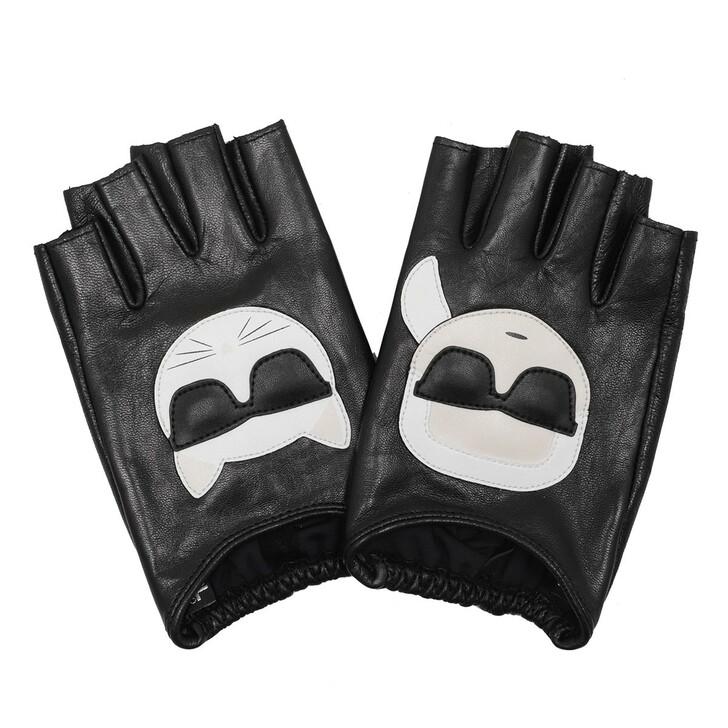 Handschuh, Karl Lagerfeld, Karl Ikonik Glove Black