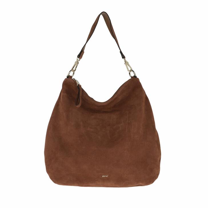 Handtasche, Abro, Hobo Bag Erna Big Caramel