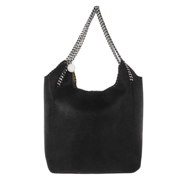 Handtasche, Stella McCartney, Large Shaggy Deer Tote Bag Leather Black