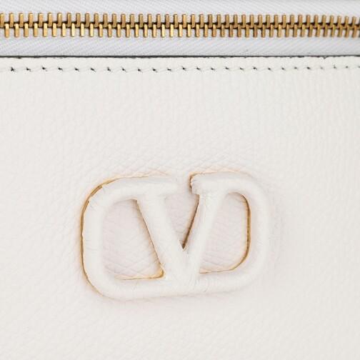 Valentino Garavani Clutches & Sacs de Soirée, VSling Pochette Leather en blanc - Pochettespour dames