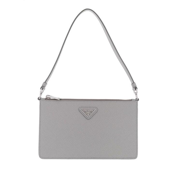 bags, Prada, Mini Saffiano Satchel Bag Nube