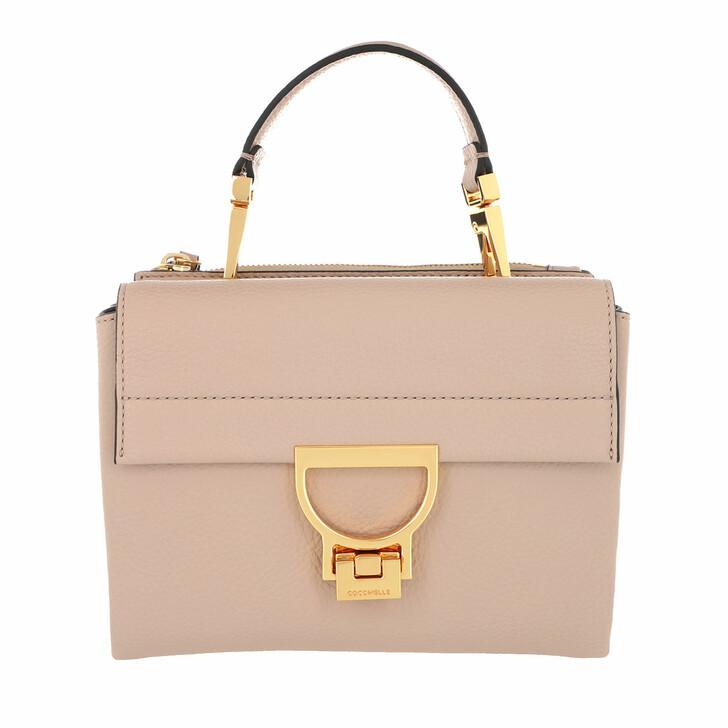 Handtasche, Coccinelle, Arlettis Grainy Leather Powder Pink