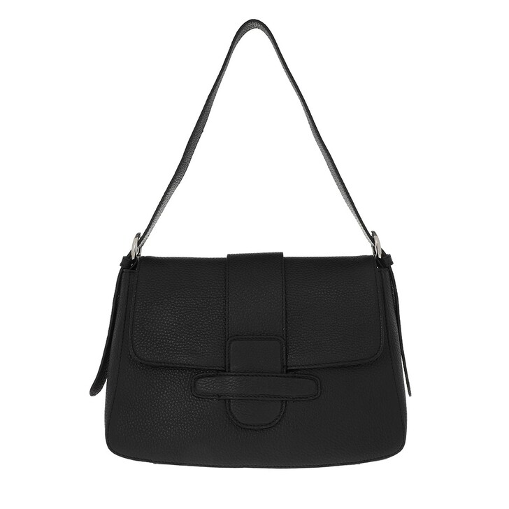 Handtasche, Abro, Shopping Bag Camilla Big Black/Nickel