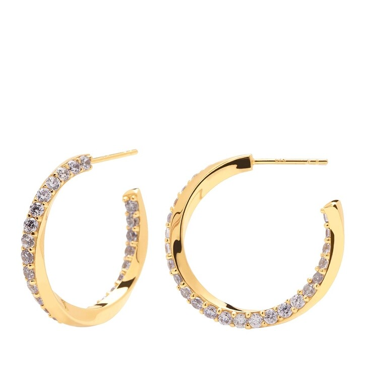 Ohrring, PDPAOLA, Cavalier Earring Yellow Gold