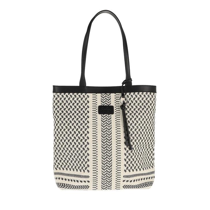 Handtasche, Lala Berlin, Tote Carmela X-Stitch Black