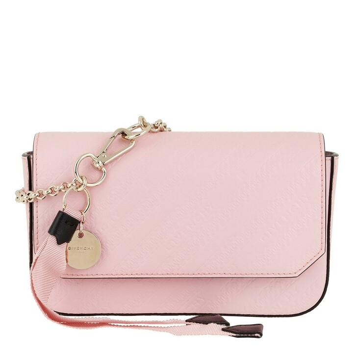 Handtasche, Givenchy, Bond Pouch Chain Strap Leather Pink