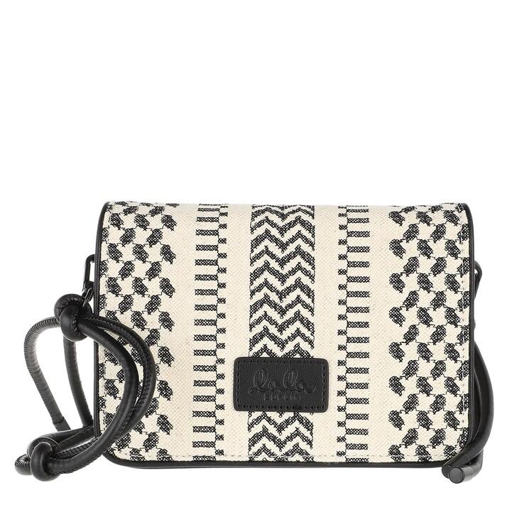 Handtasche, Lala Berlin, Crossbody Eline X-Stitch Black