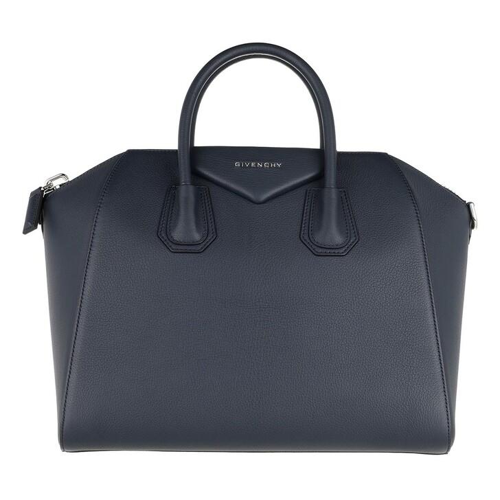 Handtasche, Givenchy, Antigona Medium Tote Navy