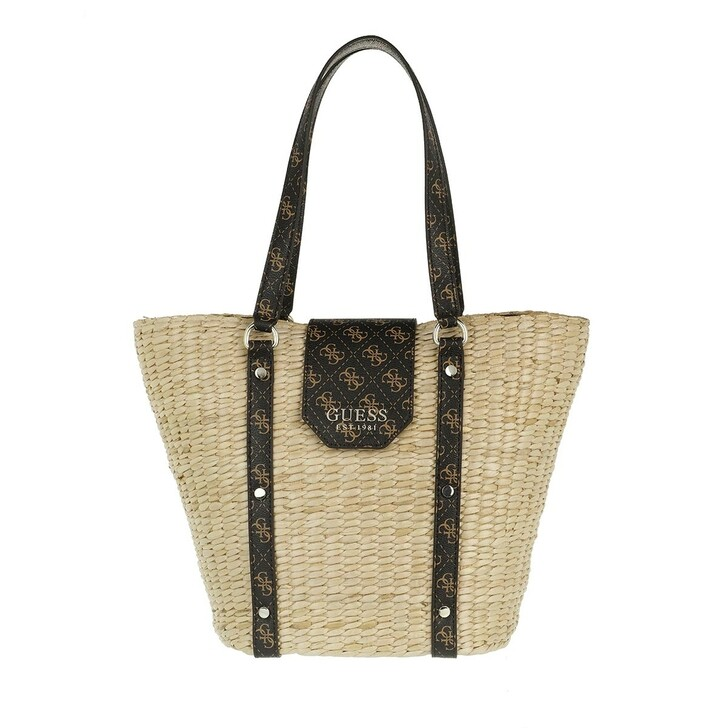 Handtasche, Guess, Paloma Tote Brown