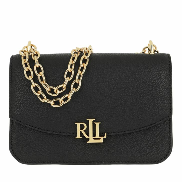 bags, Lauren Ralph Lauren, Madison 22 Crossbody Medium Black