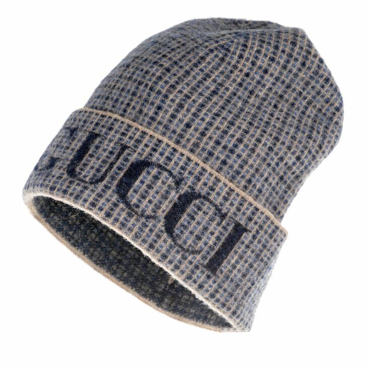 Mütze, Gucci, Logo Beanie Royal/Blue