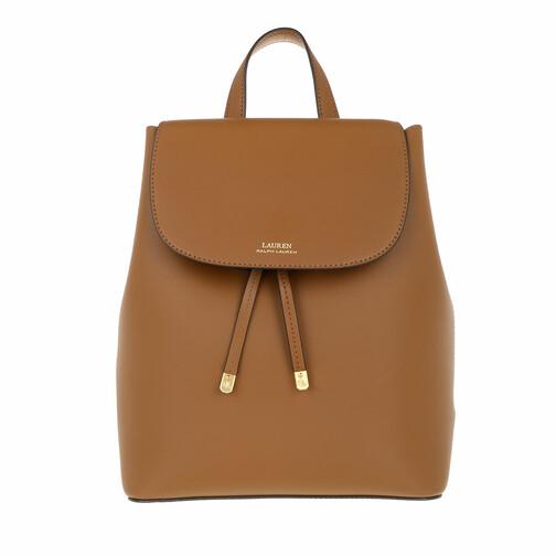 lauren ralph lauren -  Rucksack - Flap Backpck Backpack Medium - in cognac - für Damen