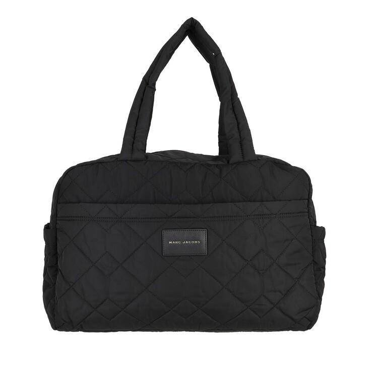 bags, Marc Jacobs, Large Weekender Nylon Black