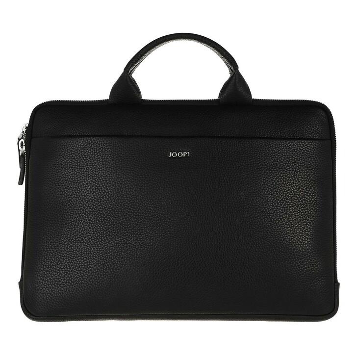 Handtasche, JOOP!, Men Cardona Samu Computer Bag Black