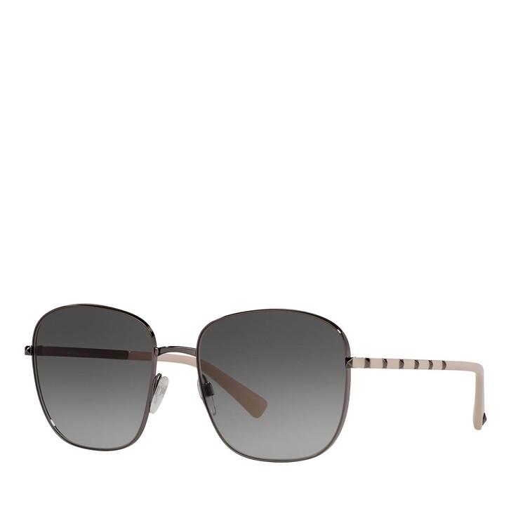 Sonnenbrille, Valentino, 0VA2046 RUTHENIUM