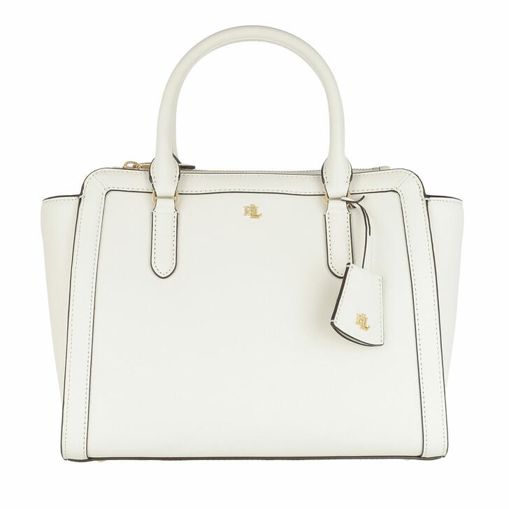 Handtasche, Lauren Ralph Lauren, Brooke 27 Satchel Medium Vanilla