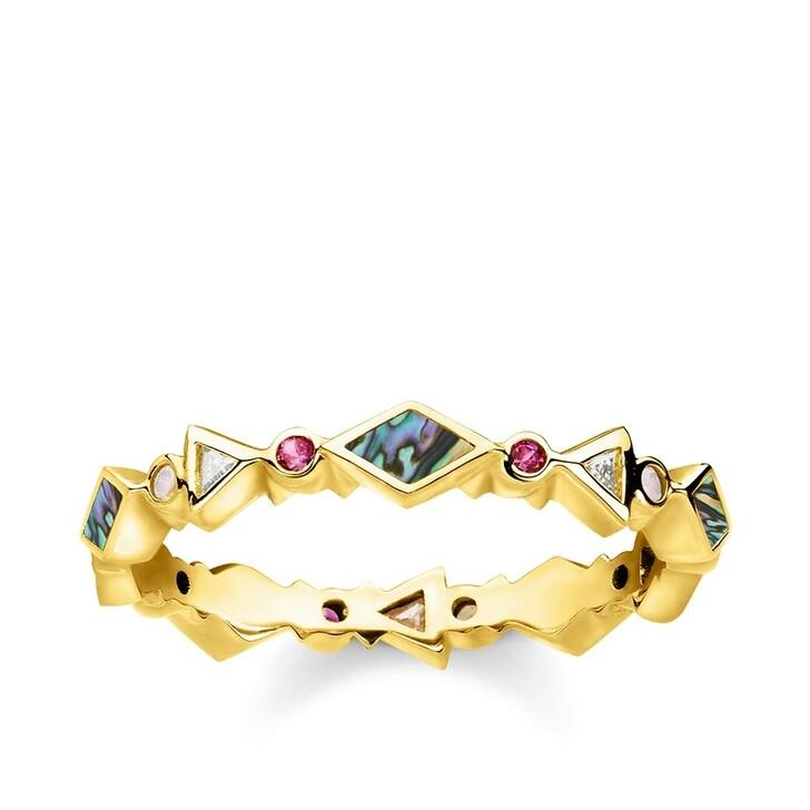 Ring, Thomas Sabo, Ring Colored Stones Gold