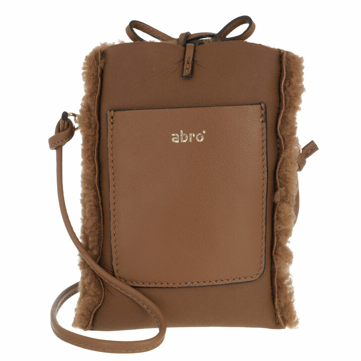 smart_cases, Abro, Mobile-Crossbody Bag RAQUEL   Caramel/Cognac