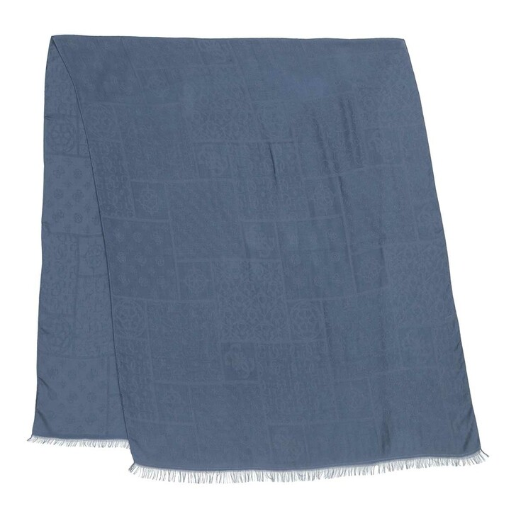 Schal, Guess, Brinkley Jacquard Scarf Blue