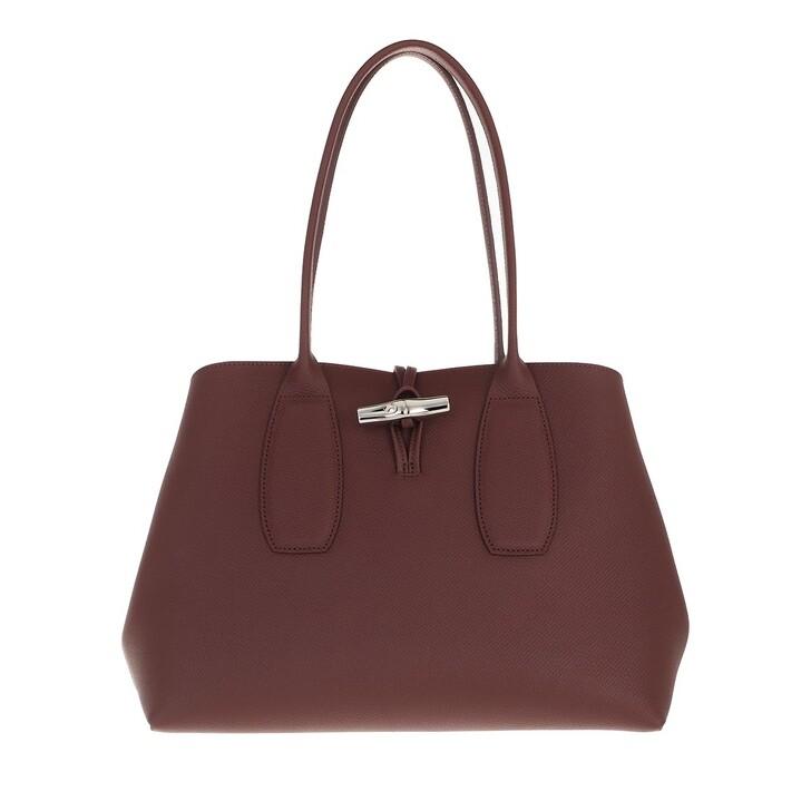 bags, Longchamp, Roseau Shoulder Bag  Bordeaux