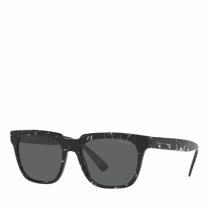 sunglasses, Prada, Man Sunglasses 0PR 04YS Abstract Black
