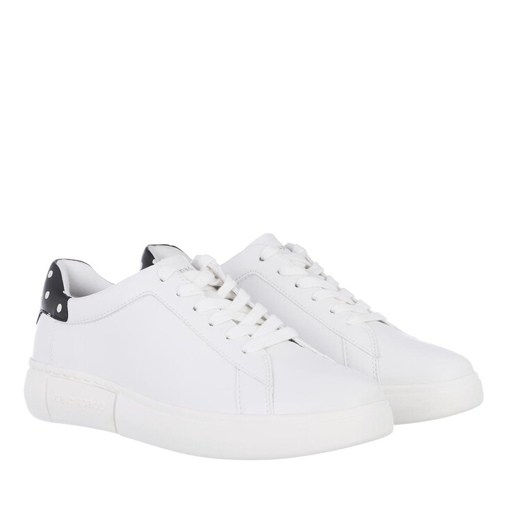 shoes, Kate Spade New York, Lift Sneaker  Opt Wht / Black / Cream