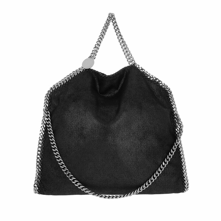 Handtasche, Stella McCartney, Falabella Fold Over Tote Black