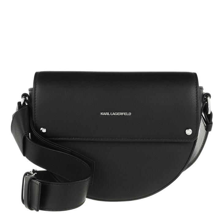 Handtasche, Karl Lagerfeld, Ikon Crossbody Black
