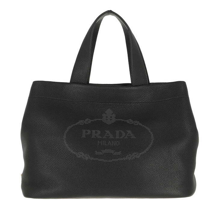 bags, Prada, Cotton Canvas Tote Bag
