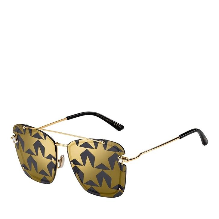 Sonnenbrille, Jimmy Choo, AMBRA/S GOLD