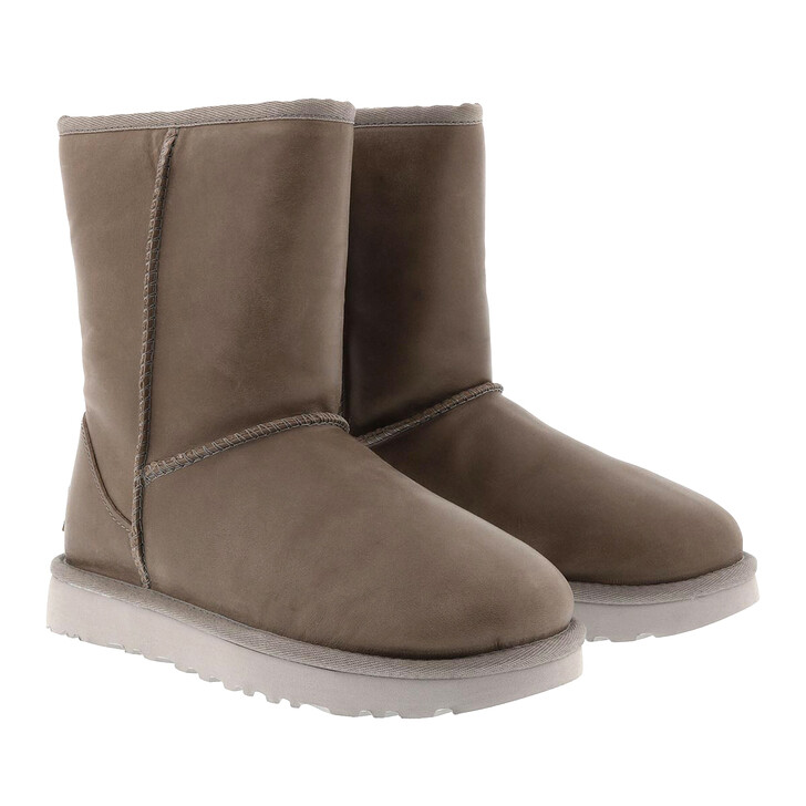 Schuh, UGG, W Classic Short Leather Feather