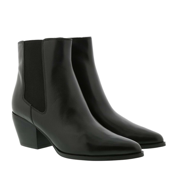shoes, What For, Scavo Ankle Boot Black