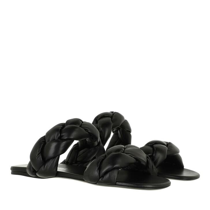 Schuh, Miu Miu, Padded Sandals Leather Black