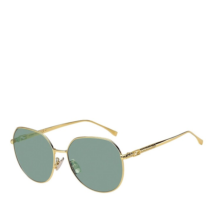 Sonnenbrille, Fendi, FF 0451/F/S YELLOW GOLD