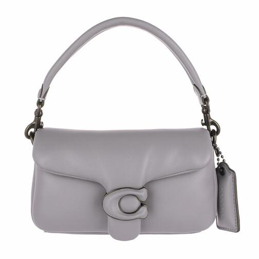 coach -  Shopper - Leather Covered C Closure Pillow Tabby Shoulder Ba - in grau - für Damen