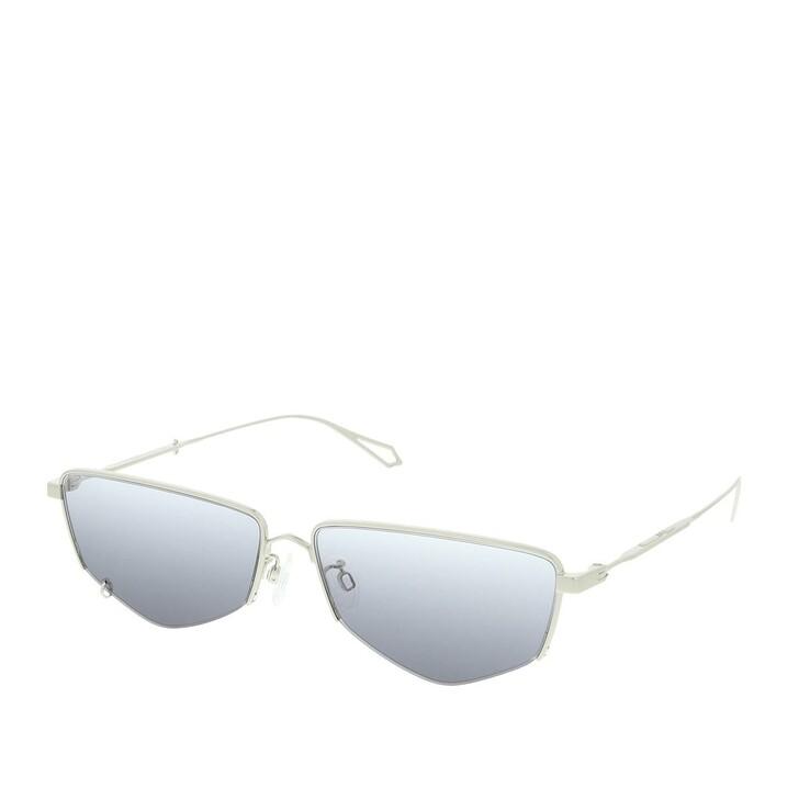 Sonnenbrille, McQ, MQ0271SA-001 60 Sunglasses Silver-Silver-Grey