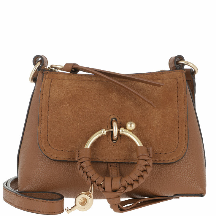Handtasche, See By Chloé, Joan Mini Crossbody Bag Caramel