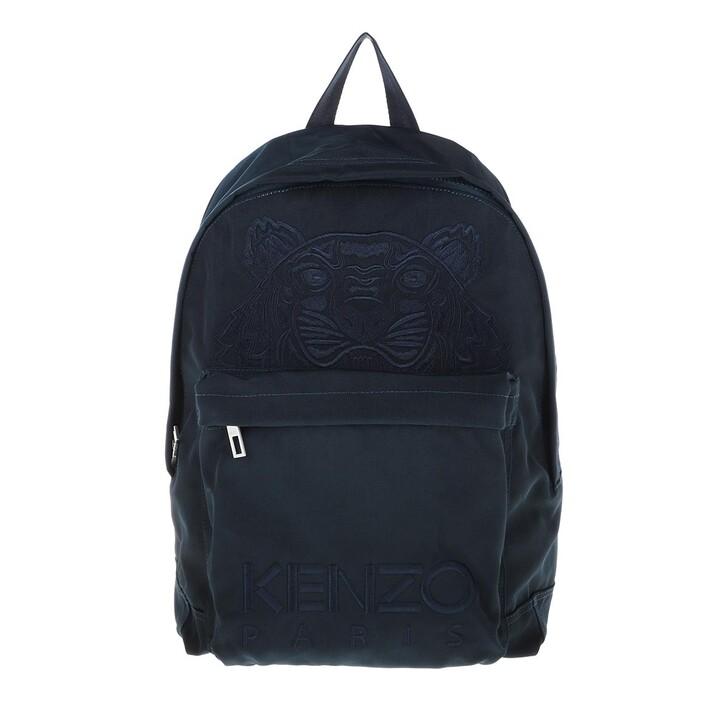 Reisetasche, Kenzo, Backpack Navy Blue