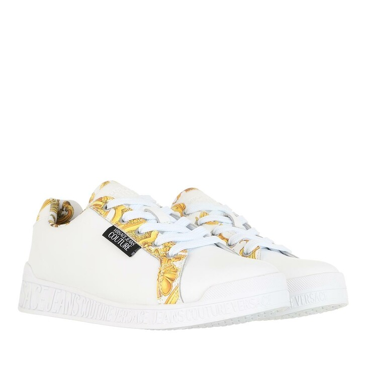 Schuh, Versace Jeans Couture, Linea Fondo Penny Sneaker White Gold