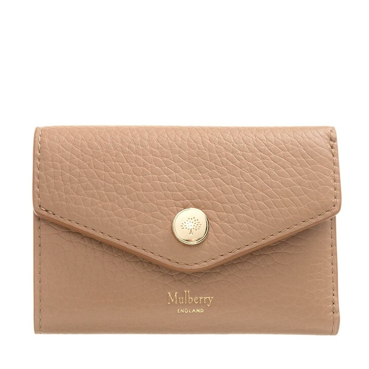 wallets, Mulberry, Mini Wallet Leather Light Salmon